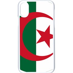 Roundel Of Algeria Air Force Apple Iphone X Seamless Case (white)