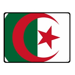 Roundel Of Algeria Air Force Fleece Blanket (small) by abbeyz71