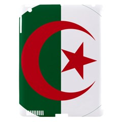 Roundel Of Algeria Air Force Apple Ipad 3/4 Hardshell Case (compatible With Smart Cover) by abbeyz71