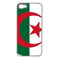 Roundel Of Algeria Air Force Apple Iphone 5 Case (silver) by abbeyz71
