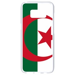 Roundel Of Algeria Air Force Samsung Galaxy S8 White Seamless Case