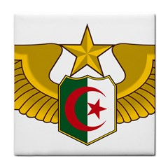 Badge Of The Algerian Air Force  Tile Coasters by abbeyz71
