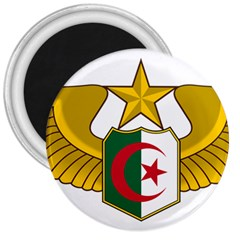 Badge Of The Algerian Air Force  3  Magnets by abbeyz71