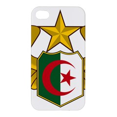 Badge Of The Algerian Air Force  Apple Iphone 4/4s Premium Hardshell Case by abbeyz71