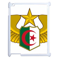 Badge Of The Algerian Air Force  Apple Ipad 2 Case (white) by abbeyz71