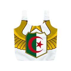 Badge Of The Algerian Air Force  Full Print Recycle Bags (s)  by abbeyz71