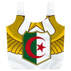 Badge Of The Algerian Air Force  Full Print Recycle Bags (l)  by abbeyz71