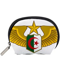 Badge Of The Algerian Air Force  Accessory Pouches (small)  by abbeyz71