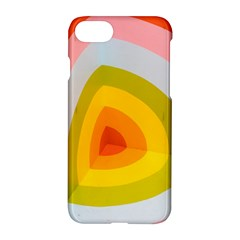 Graffiti Orange Lime Power Blue And Pink Spherical Abstract Retro Pop Art Design Apple Iphone 8 Hardshell Case by MAGA