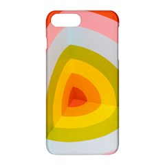 Graffiti Orange Lime Power Blue And Pink Spherical Abstract Retro Pop Art Design Apple Iphone 8 Plus Hardshell Case