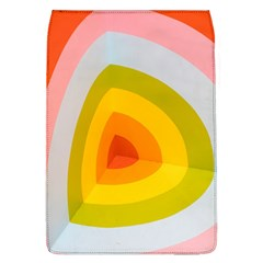 Graffiti Orange Lime Power Blue And Pink Spherical Abstract Retro Pop Art Design Flap Covers (l)  by snek