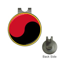 Roundel Of Angolan Air Force Hat Clips With Golf Markers by abbeyz71