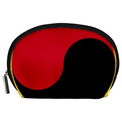 Roundel Of Angolan Air Force Accessory Pouches (large)  by abbeyz71