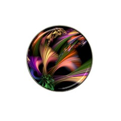 Color Burst Abstract Hat Clip Ball Marker