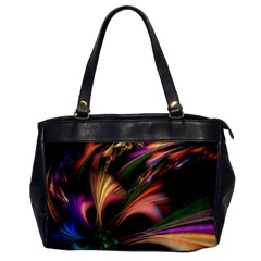 Color Burst Abstract Office Handbags by Sapixe