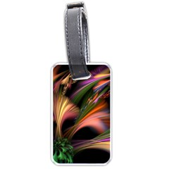 Color Burst Abstract Luggage Tags (one Side)  by Sapixe