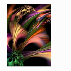 Color Burst Abstract Large Garden Flag (two Sides)