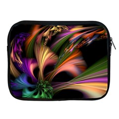 Color Burst Abstract Apple Ipad 2/3/4 Zipper Cases by Sapixe
