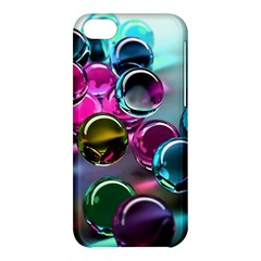 Colorful Balls Of Glass 3d Apple Iphone 5c Hardshell Case by Sapixe