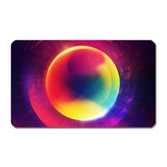 Colorful Glowing Magnet (rectangular) by Sapixe