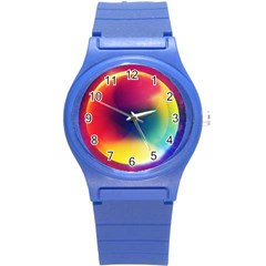 Colorful Glowing Round Plastic Sport Watch (s) by Sapixe