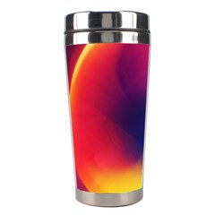 Colorful Glowing Stainless Steel Travel Tumblers by Sapixe
