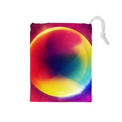 Colorful Glowing Drawstring Pouches (medium)