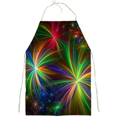 Colorful Firework Celebration Graphics Full Print Aprons by Sapixe