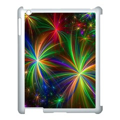 Colorful Firework Celebration Graphics Apple Ipad 3/4 Case (white) by Sapixe