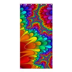 Colorful Trippy Shower Curtain 36  X 72  (stall)