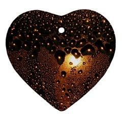 Condensation Abstract Ornament (heart) by Sapixe