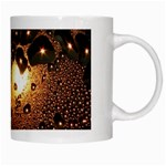 Condensation Abstract White Mugs Right