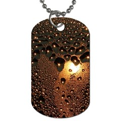 Condensation Abstract Dog Tag (two Sides) by Sapixe