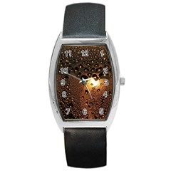 Condensation Abstract Barrel Style Metal Watch by Sapixe