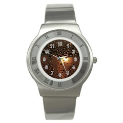 Condensation Abstract Stainless Steel Watch by Sapixe
