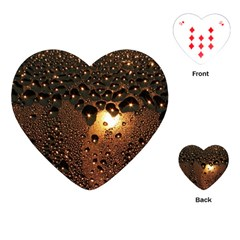 Condensation Abstract Playing Cards (heart)  by Sapixe