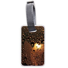Condensation Abstract Luggage Tags (two Sides) by Sapixe