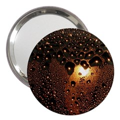 Condensation Abstract 3  Handbag Mirrors by Sapixe
