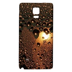 Condensation Abstract Galaxy Note 4 Back Case