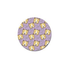 Dog Pattern Golf Ball Marker (10 Pack) by Sapixe