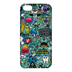 Comics Collage Apple Iphone 5c Hardshell Case by Sapixe