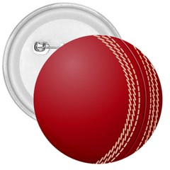 Cricket Ball 3  Buttons by Sapixe