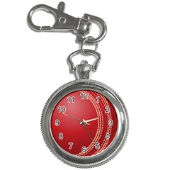 Cricket Ball Key Chain Watches by Sapixe