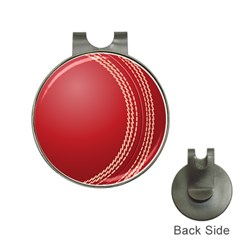 Cricket Ball Hat Clips With Golf Markers by Sapixe