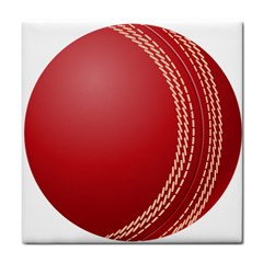 Cricket Ball Face Towel by Sapixe