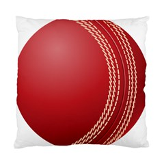 Cricket Ball Standard Cushion Case (one Side) by Sapixe
