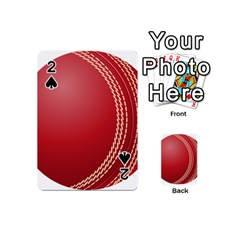 Cricket Ball Playing Cards 54 (mini)  by Sapixe