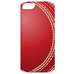 Cricket Ball Apple Iphone 5 Classic Hardshell Case by Sapixe