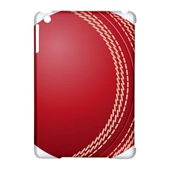 Cricket Ball Apple Ipad Mini Hardshell Case (compatible With Smart Cover) by Sapixe