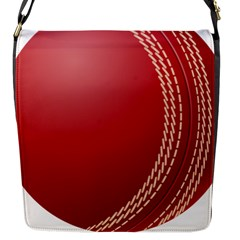 Cricket Ball Flap Messenger Bag (s) by Sapixe
